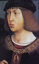 Felipe el Hermoso, painted by Francisco Pradilla Ortiz