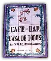 Friendly and popular tapas bar serving traditional Spanish tapas and bocadillos