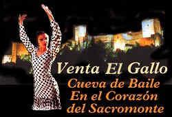 Cueva de El Rocío Flamenco en Granada España.
