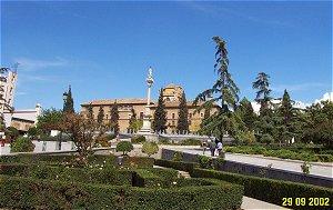 Triunfo Gardens in Granada Spain